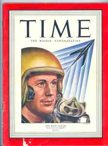 Chuck Yeager in Time Magazine